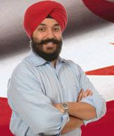 The sikh times news and analysis ontario sikhs make for Navdeep singh bains