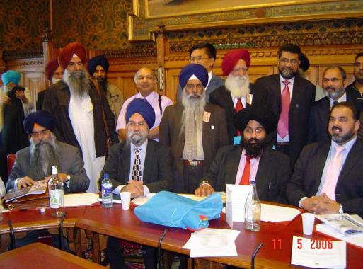 The sikh times news and analysis u k parliamentarians for Jaswant s bains